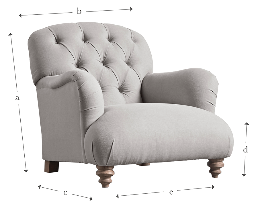 The Buttoned Armchair