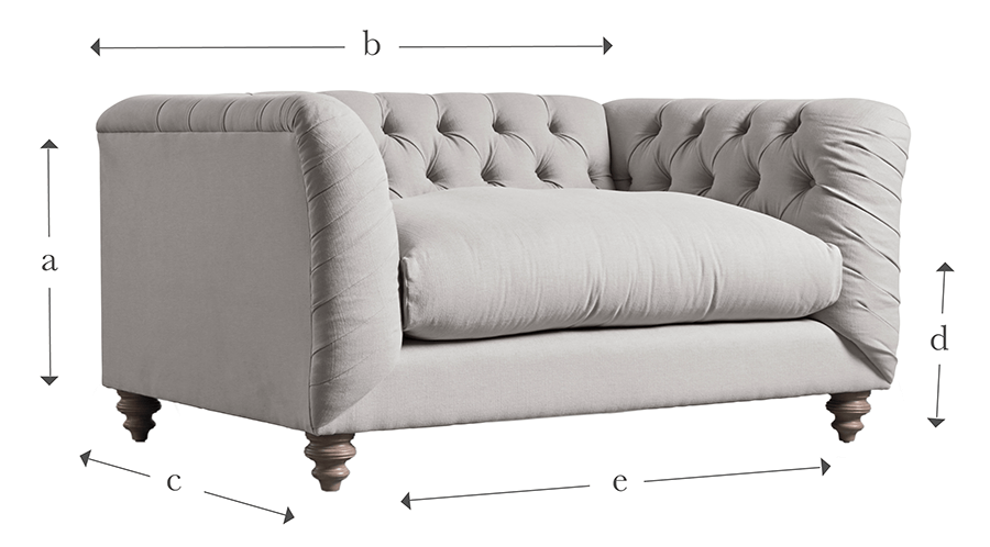 The Buttoned Loveseat