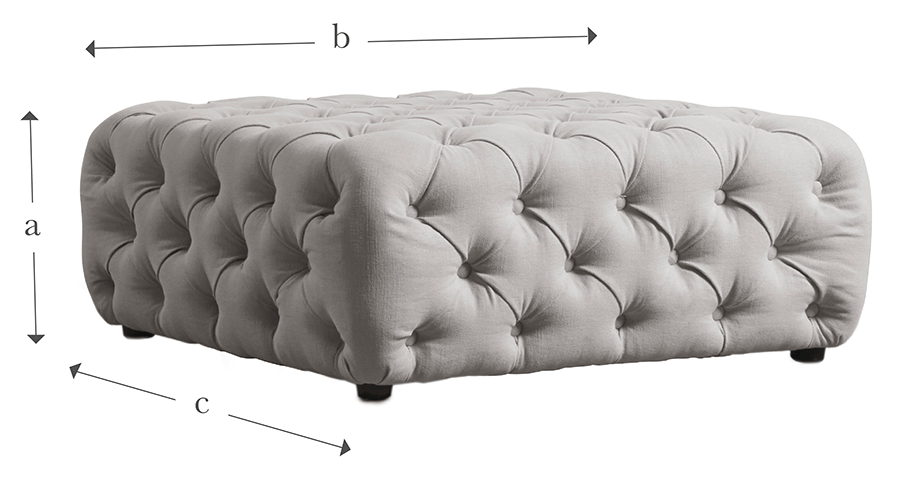 The Buttoned Ottoman