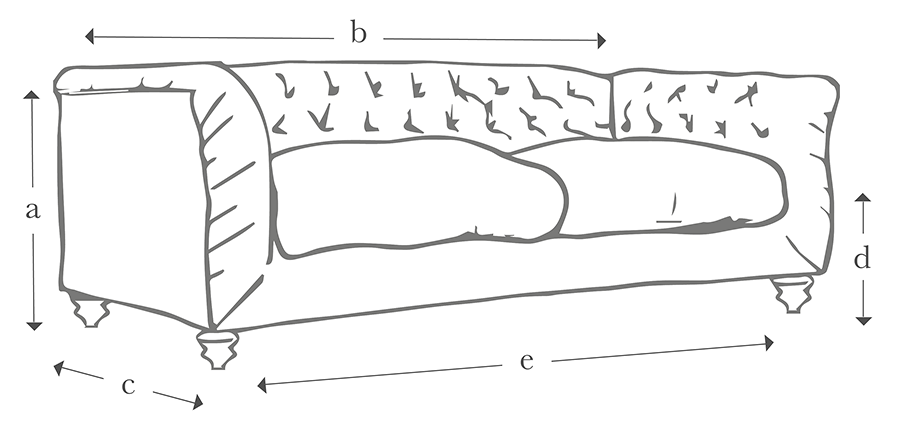 The Buttoned Sofa