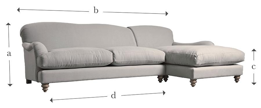 The Cosy Grand Chaise Sofa