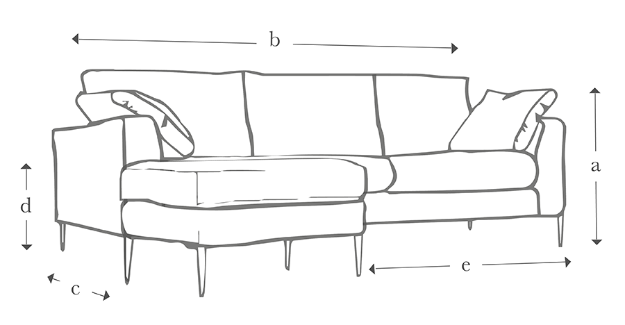 The Milano Grand Chaise Sofa