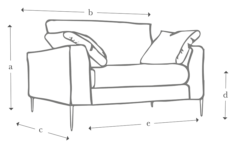 The Milano Loveseat